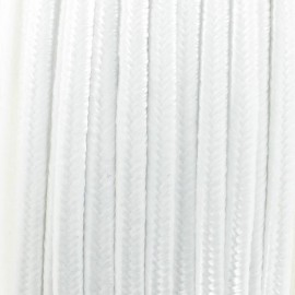Soutache braid ribbon - white