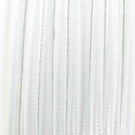 Soutache braid ribbon - white
