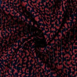 Tissu viscose Lurex Rimini - Moutarde x 10cm