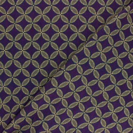 viscose Fabric - Purple Mamitha x 10cm