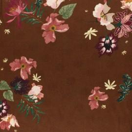 Tissu twill viscose Halliste - noir x 10cm