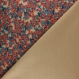 Tissu Drap manteau végétal x 10cm