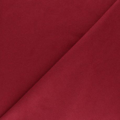Suede twill fabric - grey x 10cm