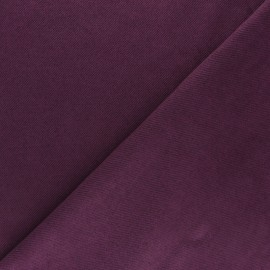 Suede twill fabric - purple x 10cm