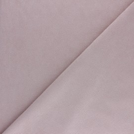 Suede twill fabric - beige x 10cm