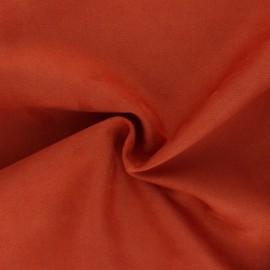 Suede elastane fabric - Chalk Lorena x 10cm