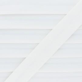 Biais Piqué De Coton - Écru x 1m