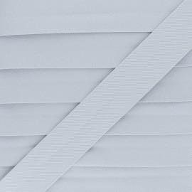 Biais Piqué De Coton - Gris x 1m