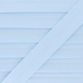 Biais Piqué De Coton - Bleu x 1m