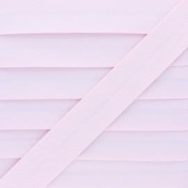 Biais Piqué De Coton - Rose x 1m