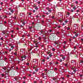 Cotton Jersey fabric - grey Iris & Lola x 10cm