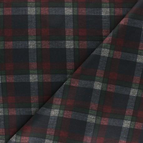 Milano jersey fabric - black Adela x 10cm