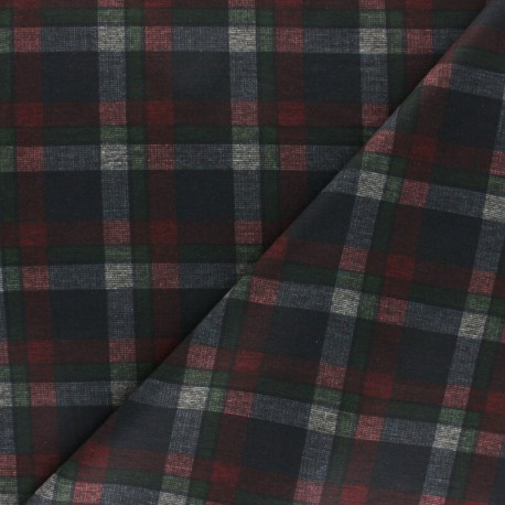 Tissu Jersey Milano Holloway - Rouge x 10cm