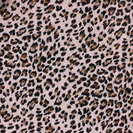 Viscose Fabric - Pink Panther x 10cm
