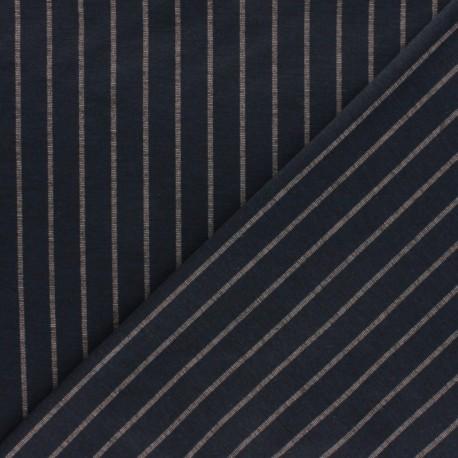 Striped Milano jersey fabric - blue Emmett x 10cm