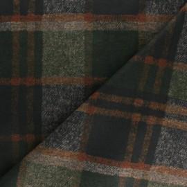 Tissu Jersey Milano touché laine Ronald - vert x 10cm