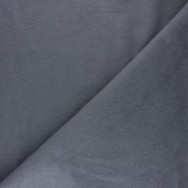 Plain Cotton security blanket - grey x 10cm