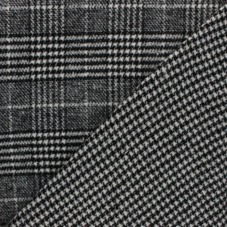 Coat sheet Fabric - Grey Garance x 10cm