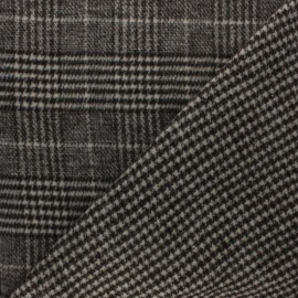 Reversible Coat sheet Fabric - Brown Teddy x 10cm