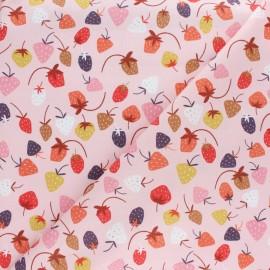 Tissu coton Dashwood Elinop arbre - rose x 10cm