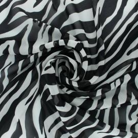 Tissu crêpe Tigresse - Écru x 10cm