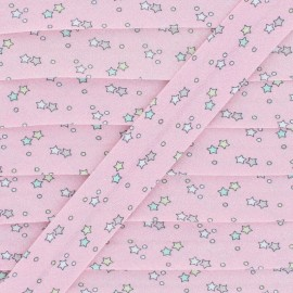 Cotton Bias Binding - Pink Interstellar x 1m