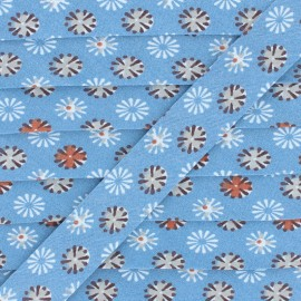 Cotton Bias Binding - Blue Firework x 1m