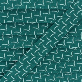 Biais Coton Envol - Vert x 1m
