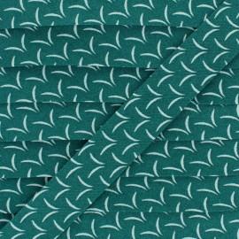 Cotton Bias Binding - Green Flight x 1m