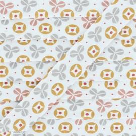 Amurrio Cotton Bias Binding - Orange x 1m