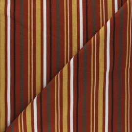Cotton Jersey fabric - Rust Provencia x 10cm