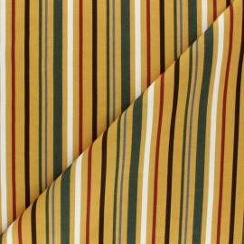 Cotton Jersey fabric - Curry Provencia x 10cm