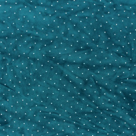 Tissu jersey velours Strass - ocre x 10cm
