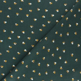 Crepe Viscose fabric - Green Chroma x 10cm