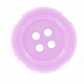 Bouton clown mauve