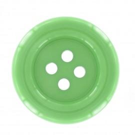 Clown Button - green