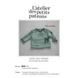 Patron Cache Coeur L'Atelier des Petits Patrons - Margot