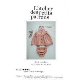 Patron Robe L'Atelier des Petits Patrons - Louise