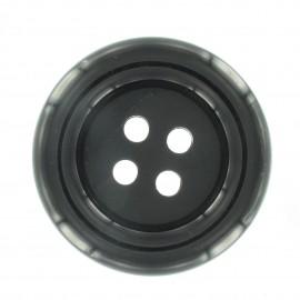 Clown Button - black