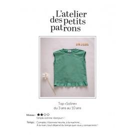 Top Sewing Pattern - L'Atelier des Petits Patrons Soline