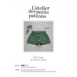 Patron Short L'Atelier des Petits Patrons - Lisa