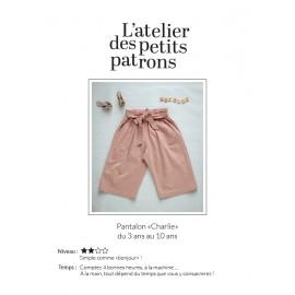 Patron Pantalon L'Atelier des Petits Patrons - Charlie