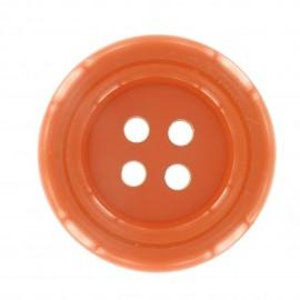 Clown Button - orange