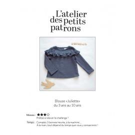 Blouse Sewing Pattern - L'Atelier des Petits Patrons Juliette