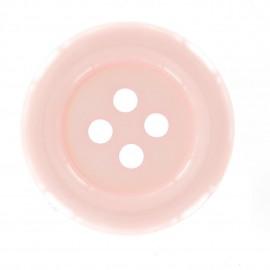 Bouton clown rose pâle