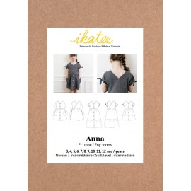 Dress Sewing pattern - Ikatee Anna