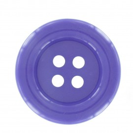 Clown Button - purple