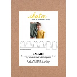 Dress Sewing pattern - Ikatee Jasmin