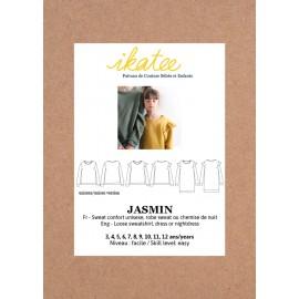 Patron Ikatee Jasmin Sweat/Robe - 3 à 12 ans