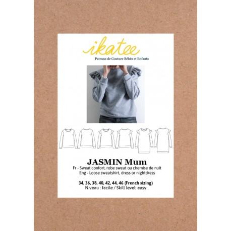 Patron Ikatee Jasmin Mum Sweat/Robe - 34 au 46